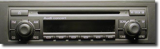 Audi Concert Der Reparateur Repariert Elektronik